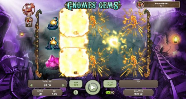 Gnomes Gems :: All symbols explode and a new set of symbols will drop in place