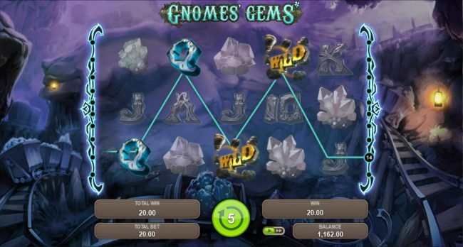 Gnomes Gems :: Free Spins Game Board