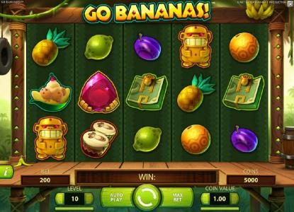 ZigZag777 featuring the Video Slots Go Bananas with a maximum payout of $7,000