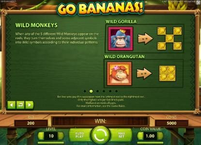 Svedala featuring the Video Slots Go Bananas with a maximum payout of $7,000