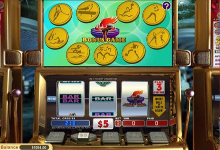 Play slots at Miami Club: Miami Club featuring the Video Slots Go for Gold with a maximum payout of $24,000