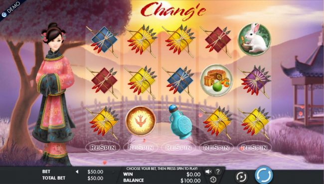 Euro Slots featuring the Video Slots Goddess of the Moon with a maximum payout of $200,000