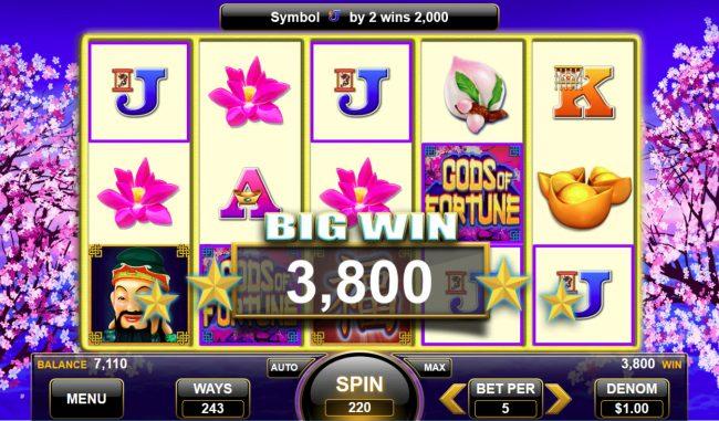 Gods of Fortune :: Big Win