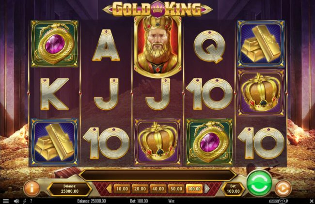 TS featuring the Video Slots Gold King with a maximum payout of $500,000