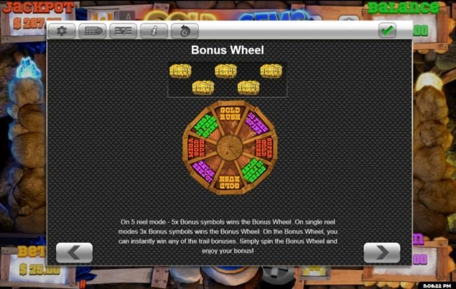 Bonus Wheel Game Rules