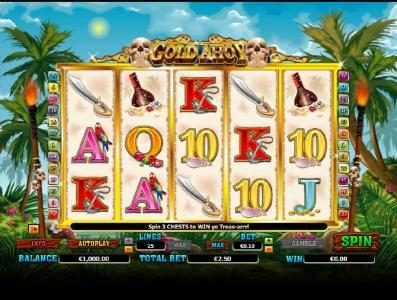 Play slots at Fruity Casa: Fruity Casa featuring the Video Slots Gold Ahoy with a maximum payout of $50,000