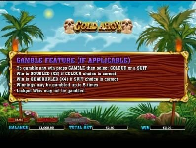 Play slots at King Billy: King Billy featuring the Video Slots Gold Ahoy with a maximum payout of $50,000