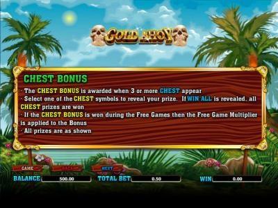 chest bonus rules