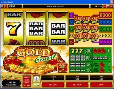 Play slots at Money Reels: Money Reels featuring the Video Slots Gold Coast with a maximum payout of $30,000