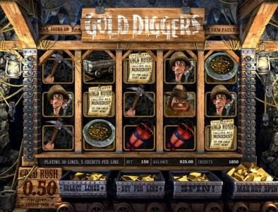 Play slots at 007 Slots: 007 Slots featuring the Video Slots Gold Diggers with a maximum payout of $7,500