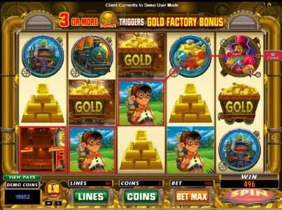 Play slots at Golden Tiger: Golden Tiger featuring the Video Slots Gold Factory with a maximum payout of $25,000