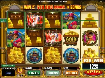 Vegas Country featuring the Video Slots Gold Factory with a maximum payout of $25,000