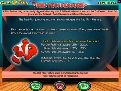 Gold Fish :: Red Fish Feature
