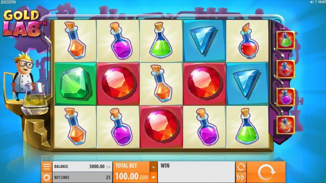 Casino Cruise featuring the Video Slots Gold Lab with a maximum payout of $4,000