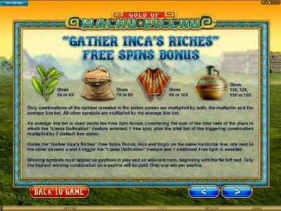 Euro Slots featuring the Video Slots Gold Of Machu Picchu with a maximum payout of $37,500