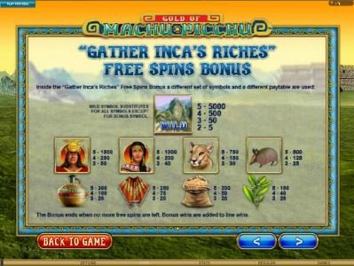 7Sultans featuring the Video Slots Gold Of Machu Picchu with a maximum payout of $37,500