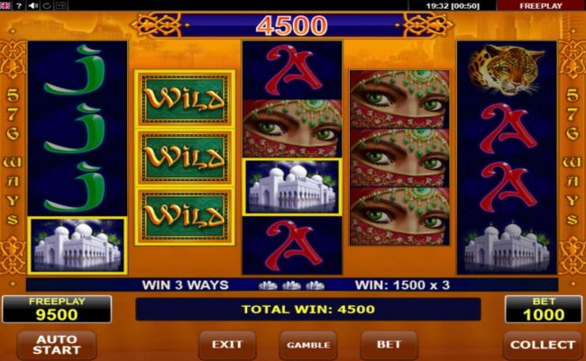 Oshi featuring the Video Slots Golden Book with a maximum payout of $12,500