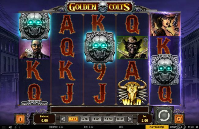 7 Gods Casino featuring the Video Slots Golden Colts with a maximum payout of $250,000