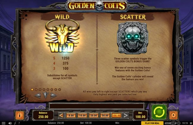 Play slots at Prime Slots: Prime Slots featuring the Video Slots Golden Colts with a maximum payout of $250,000