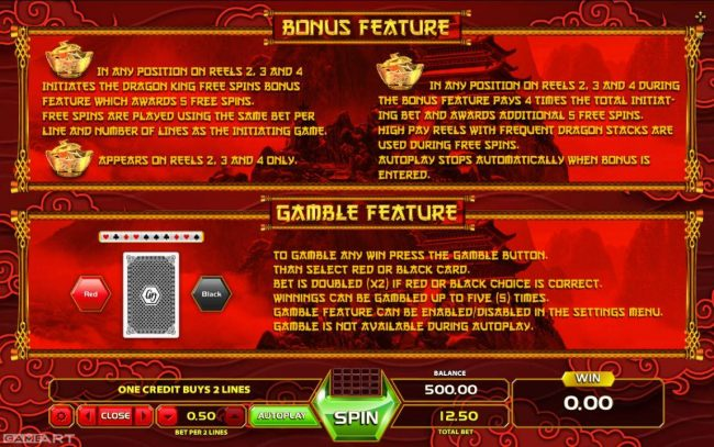 Spintropolis featuring the Video Slots Golden Dragon with a maximum payout of $25,000
