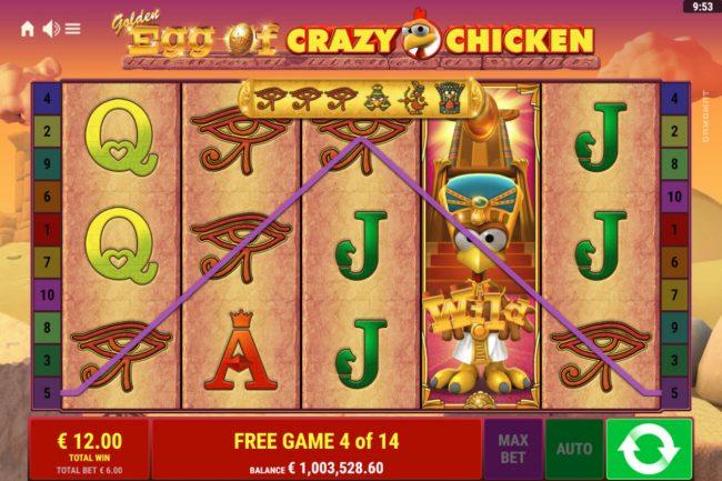Golden Egg of Crazy Chicken :: A winning four of a kind