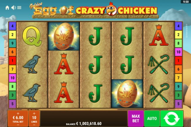 Golden Egg of Crazy Chicken :: Main Game Board