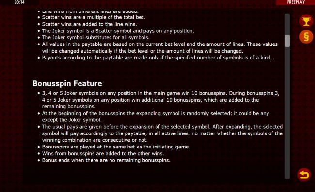 Golden Joker :: Free Game Rules
