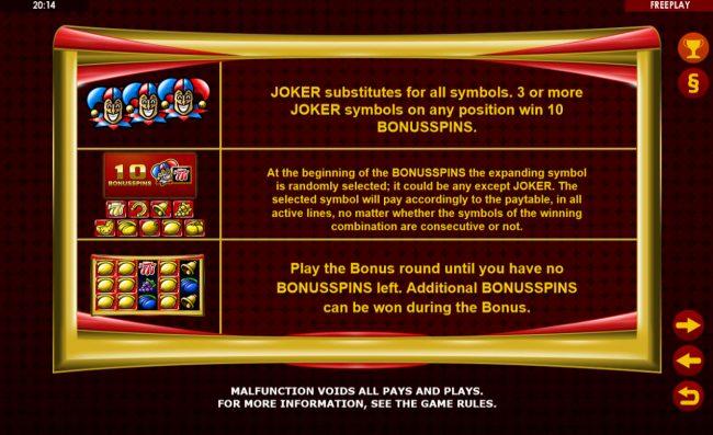 Golden Joker :: Feature Rules