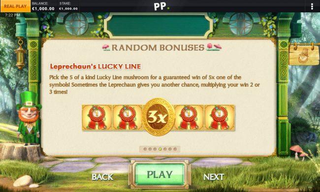 Random Bonus Rules