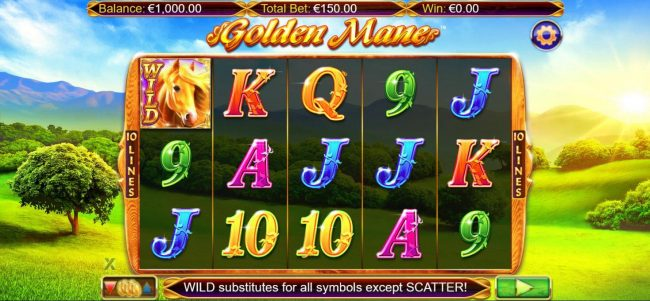 Play slots at Lord of the Spins: Lord of the Spins featuring the Video Slots Golden Mane with a maximum payout of $15,000