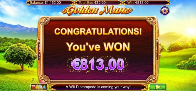 Casino Superlines featuring the Video Slots Golden Mane with a maximum payout of $15,000
