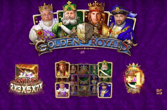 Play slots at Magik Slots: Magik Slots featuring the Video Slots Golden Royals with a maximum payout of $100,000