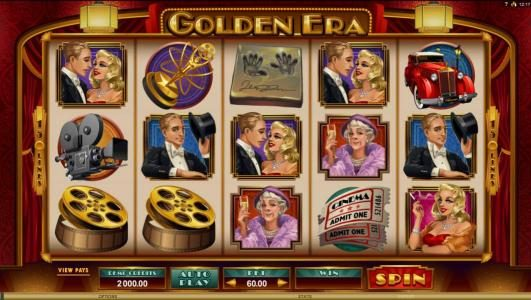 Play slots at Spin Palace: Spin Palace featuring the Video Slots Golden Era with a maximum payout of $106,000