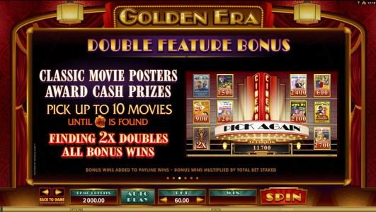 Play slots at Casino Classic: Casino Classic featuring the Video Slots Golden Era with a maximum payout of $106,000