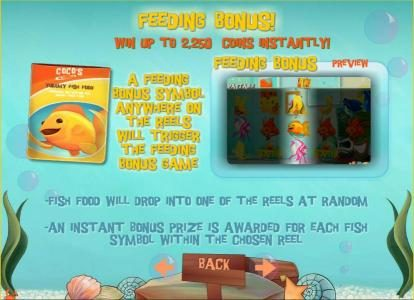 Mongoose Casino featuring the Video Slots Golden Fish with a maximum payout of $150,000
