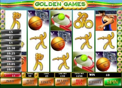 Money Storm featuring the Video Slots Golden Games with a maximum payout of $500,000