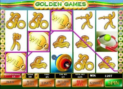 African Palace featuring the Video Slots Golden Games with a maximum payout of $500,000