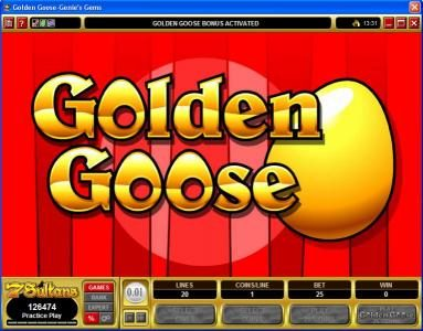 Casino Classic featuring the video-Slots Golden Goose - Genie's Gems with a maximum payout of $16,000