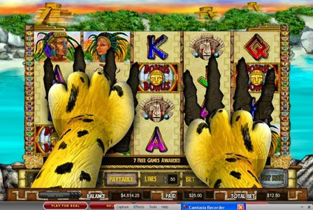 Karamba featuring the Video Slots Golden Jaguar with a maximum payout of 750x