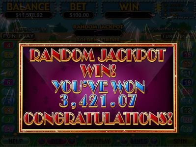 Golden Retriever :: Random Jackpot Winner
