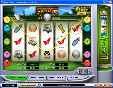 Play slots at Mr Play: Mr Play featuring the Video Slots Golden Tour with a maximum payout of Jackpot