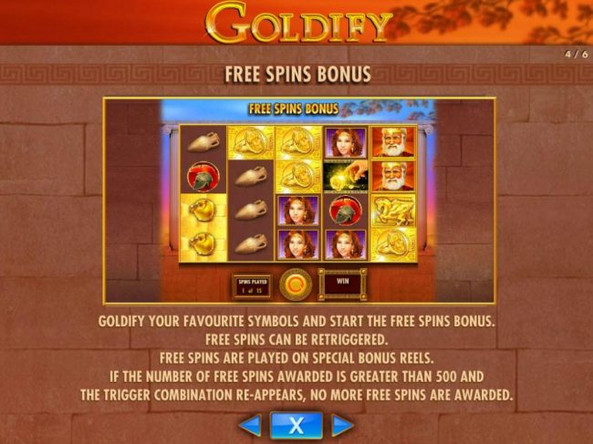 Play slots at Next Casino: Next Casino featuring the Video Slots Goldify with a maximum payout of $250,000