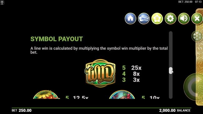 Yeti Casino featuring the Video Slots Goldwyn's Fairies with a maximum payout of $125,000