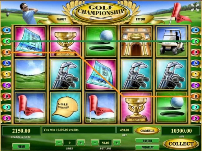 24 Vip featuring the Video Slots Golf Championship with a maximum payout of $500,000