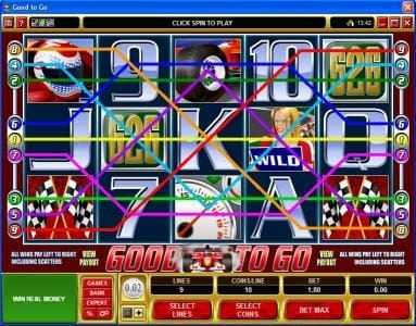 Lucky247 featuring the Video Slots Good To Go with a maximum payout of $50,000
