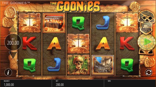 The Goonies :: Main Game Board