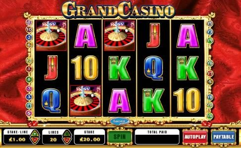 Vera&John featuring the Video Slots Grand Casino with a maximum payout of $250,000