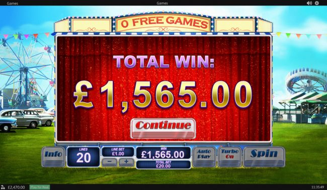 Grease :: Total Free Spins Payout