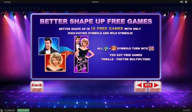 Come On featuring the Video Slots Grease with a maximum payout of $20,000