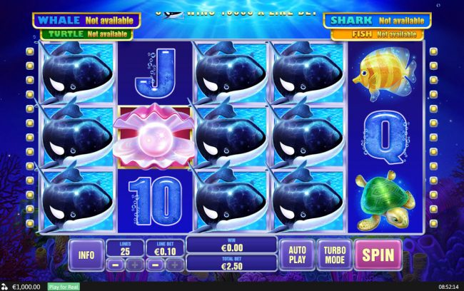 Supercasino featuring the Video Slots Great Blue Jackpot with a maximum payout of Jackpot